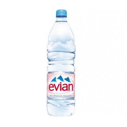EUX MINERALES Evian, San pellegrino